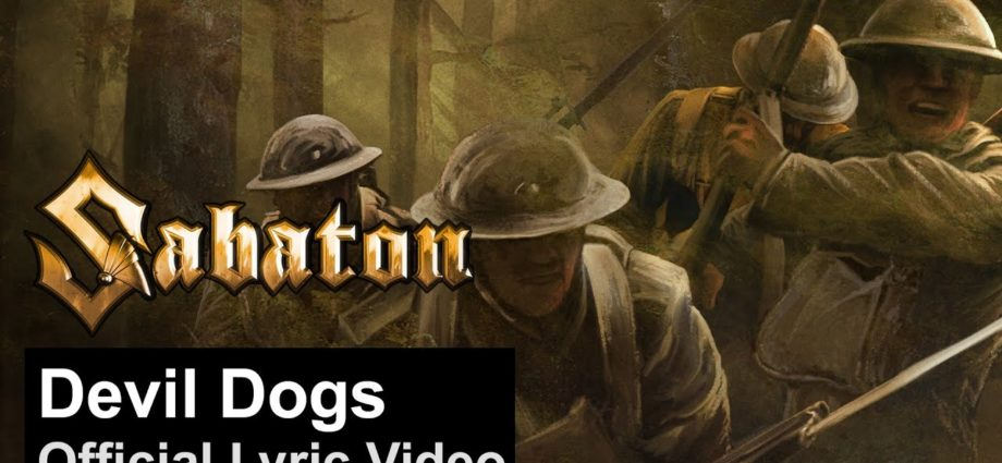 SABATON - Devil Dogs (Vidéo lyrique officielle)