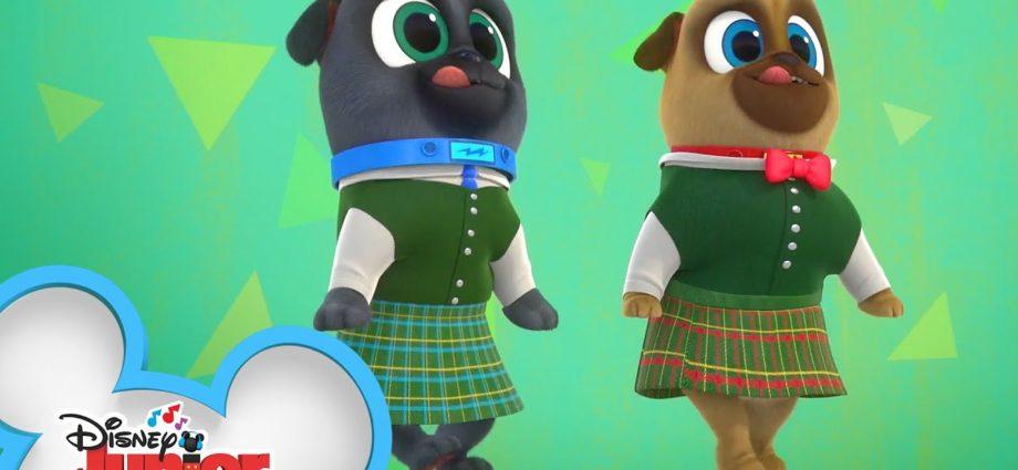 Les chiots de la danse   Puppy Dog Pals   @Disney Junior