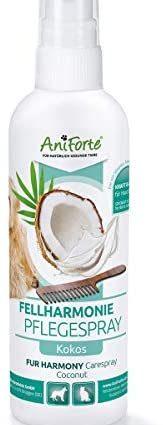 AniForte Fellharmonie spray de soin pour chiens et chats 200ml - Soin doux pour le pelage et la peau, spray pour le pelage, poil brillant, élimination des feutres, aide au peignage