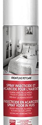 FRONTLINE PET CARE - Spray anti-puces anti-acariens pour la maison - 250ml