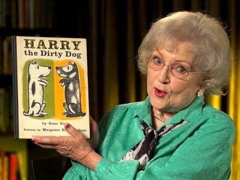 Harry le chien sale lu par Betty White