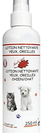 Feuille rouge Lotion Nettoyante Yeux/Oreilles pour Chien/Chat