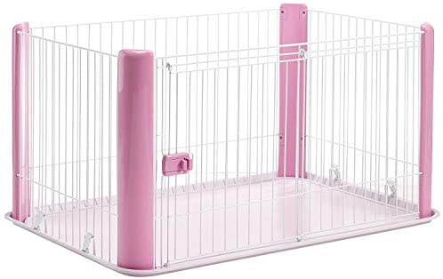 Iris Ohyama Chien Cage Parc d'Extérieur Enclos Chenil Rose Europe Cls-1130 1 kg